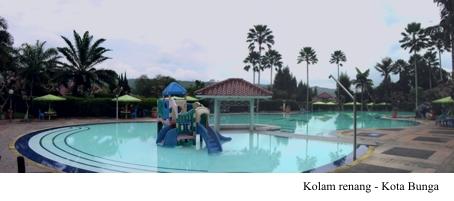 Kolam renang | Villa Miranti - Kota Bunga